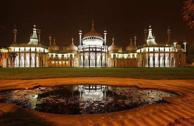 Le Royal Pavilion de Brighton surprend par son architecture indienne