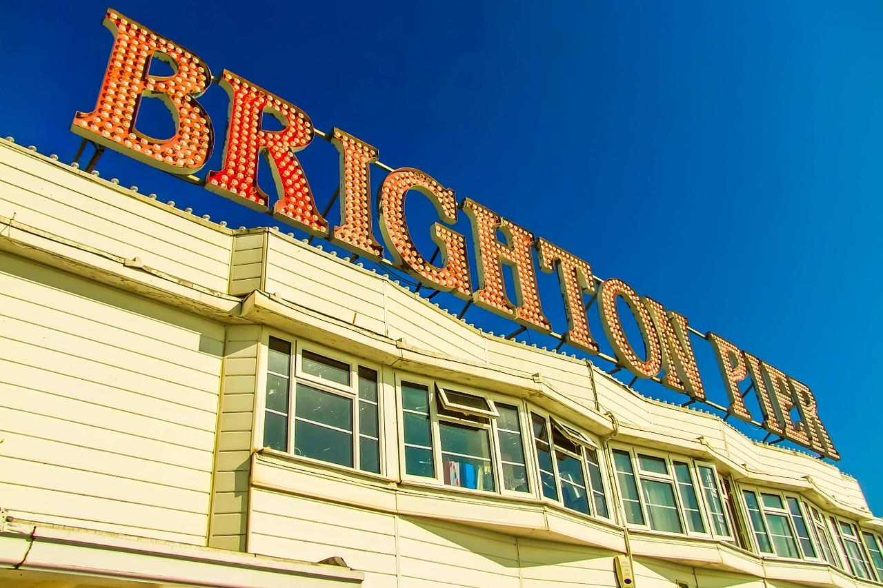 Brighton, station balnéaire à l'anglaise
