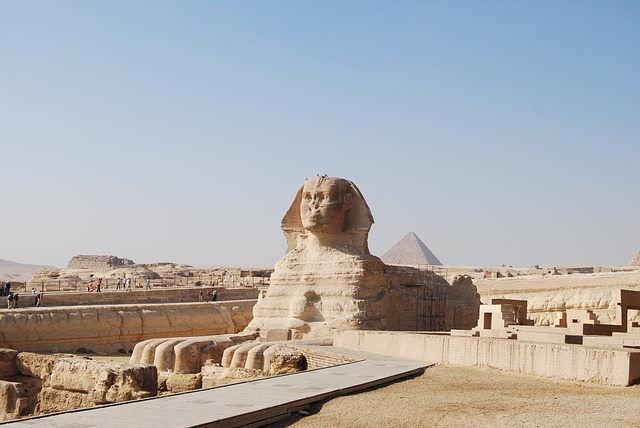 sphinx gizeh pyramide egypte