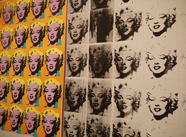 Marilyn andy warhol new york moma