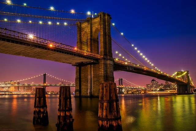 brooklyn bridge new york pont suspendu