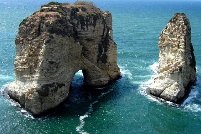 grotte pigeons hamra beyrouth liban