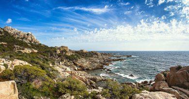 Le superbe littoral du côté de Porto Pollo