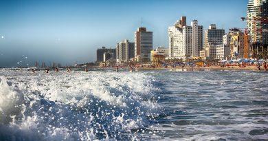 Tel Aviv au bord de la mer