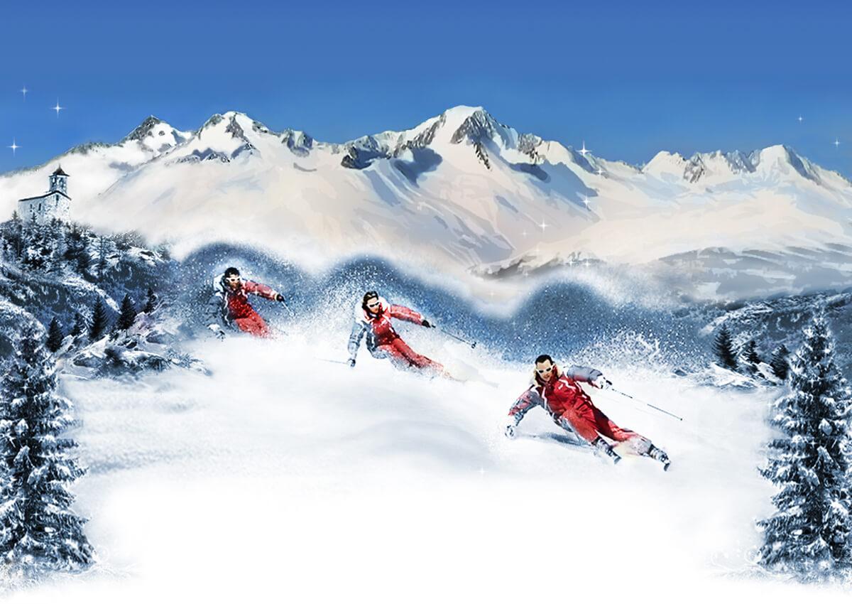 La rosière, une station de ski parfaite pour les sports d'hiver