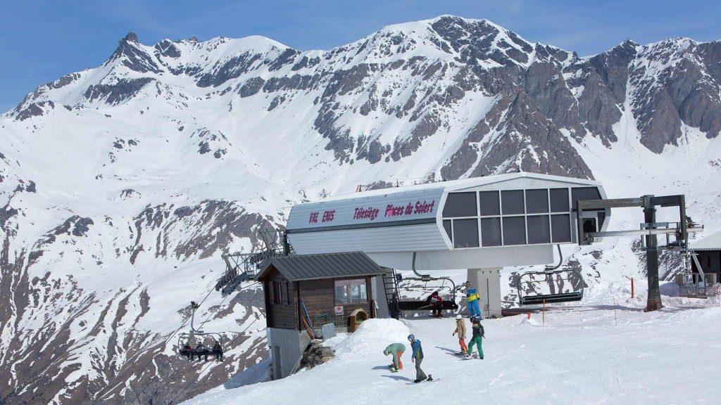 Val Cenis dans la vallée de la Maurienne