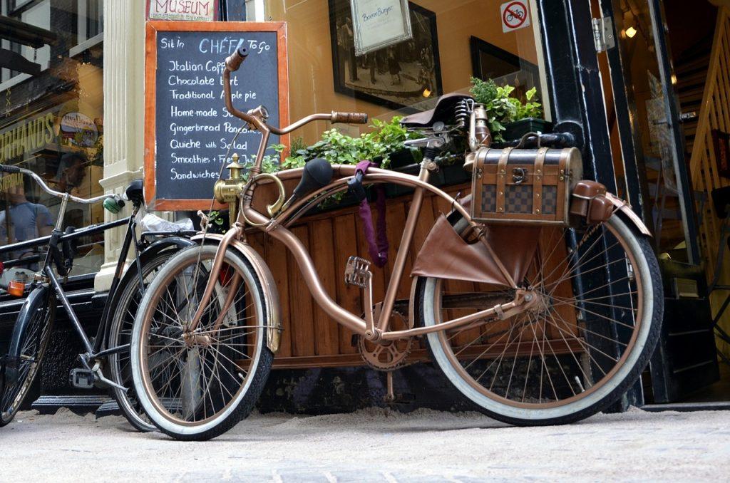 Amsterdam et les vélos