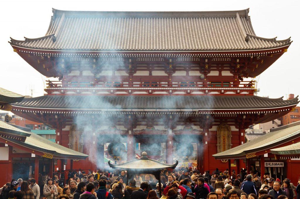 les temples de Tokyo