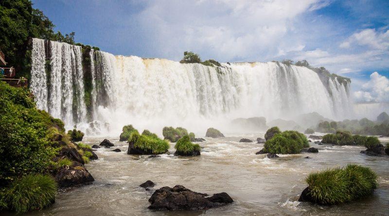 Les chutes d'Igazu - Brésil