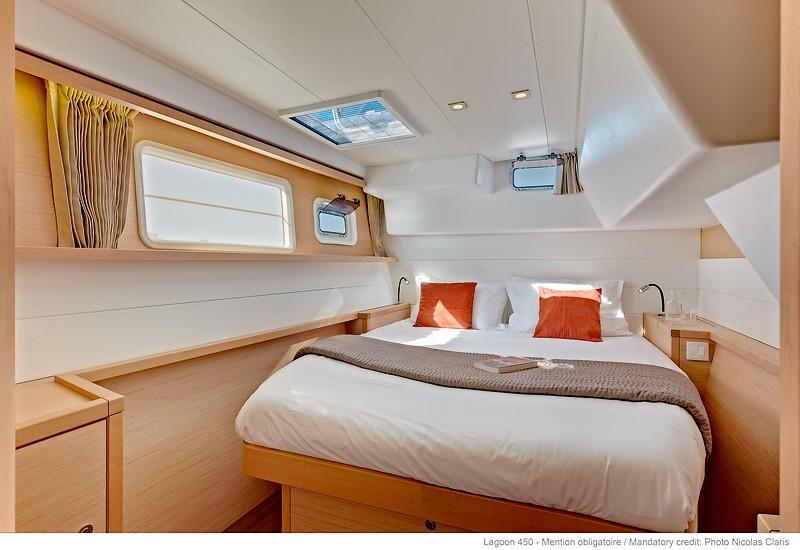 Lagon 450 cabine
