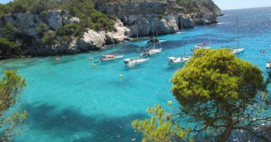 Bord de mer - Minorque - Baleares