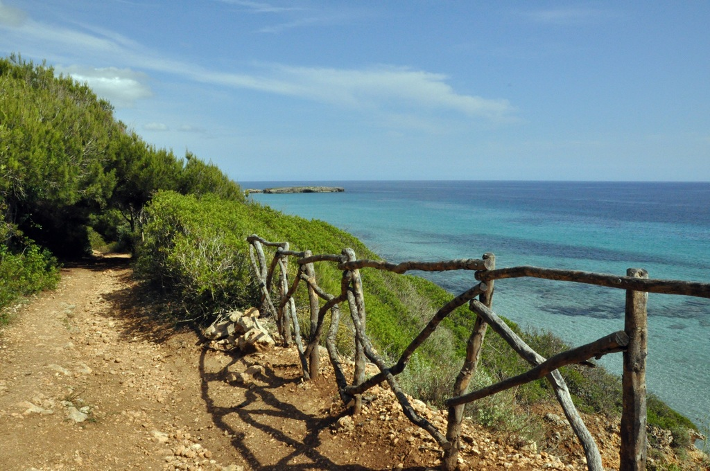 La côte sauvage de Minorque Baléares