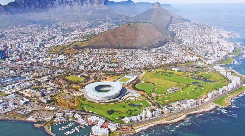 Cape Town - Vue aérienne de la ville