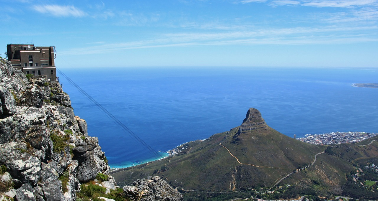 Table mountain et le funiculaire