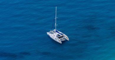 location catamaran grece