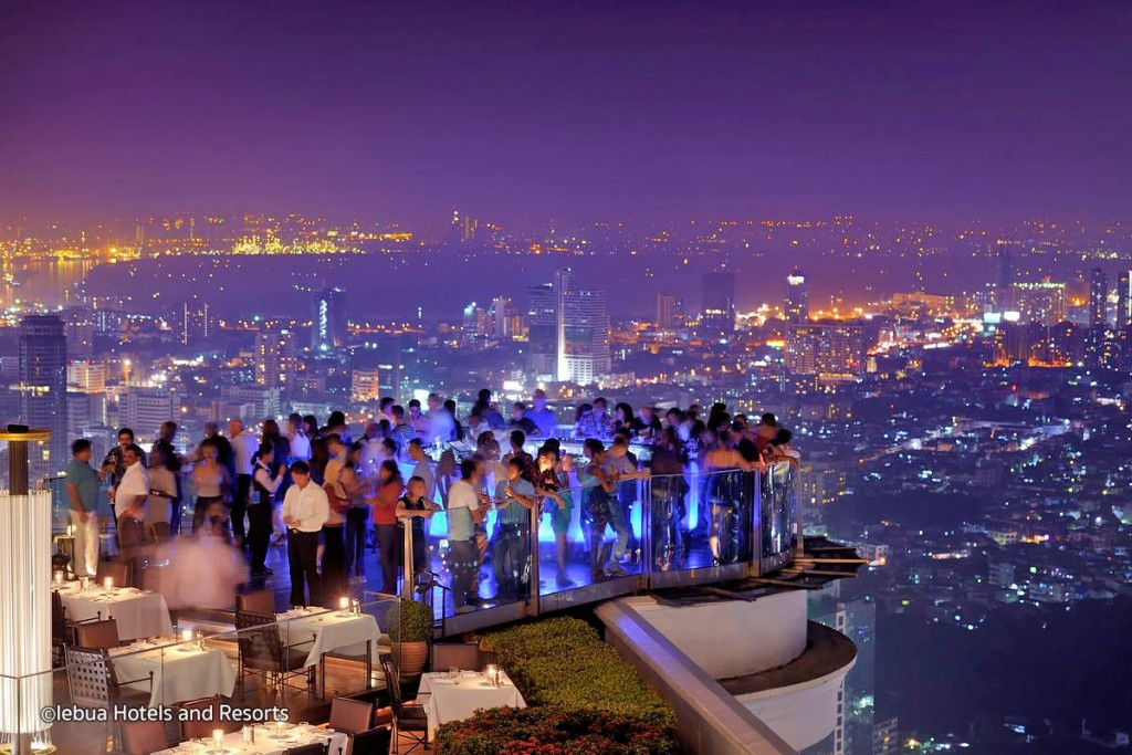 Bangkok Sky Bar au Lebua