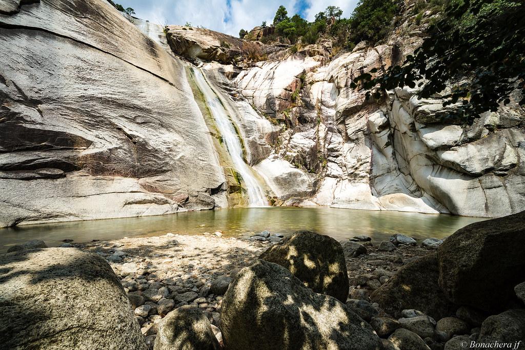 Les plus beaux spots de canyon de Corse du sud