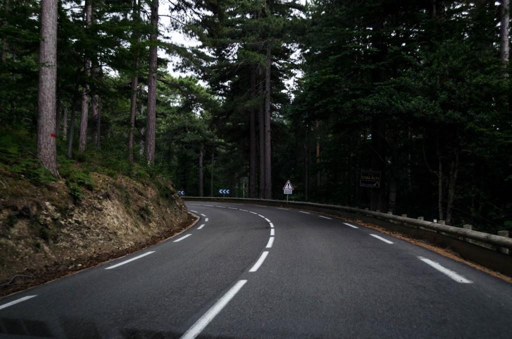 Route en Corse