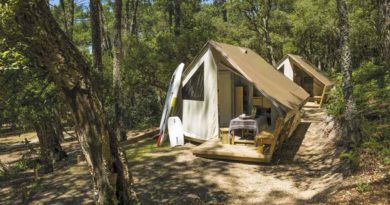 Le camping hors saison