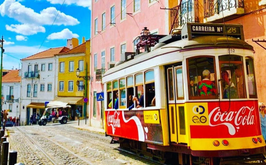 Découvrir Lisbonne en Tram