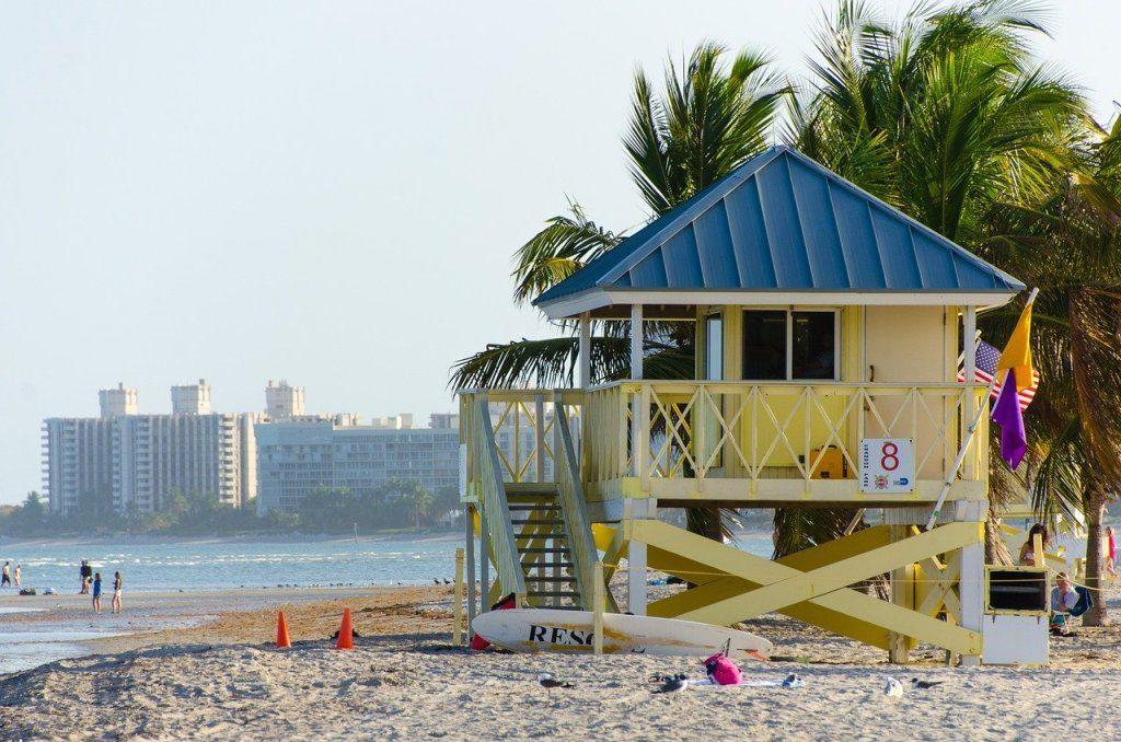 Les plages de Miami Beach