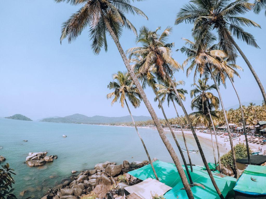 Goa et les plages des Indes