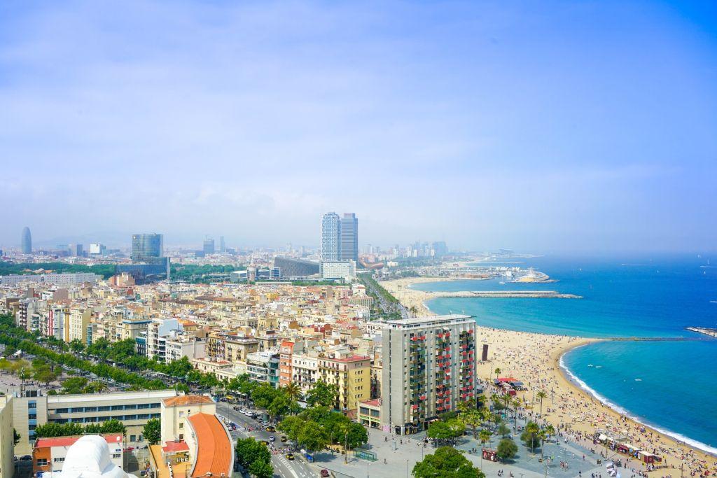 Barcelone en été
